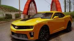 Chevrolet Camaro ZL1 v2.0 für GTA San Andreas