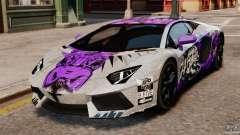 Lamborghini Aventador LP700-4 2012 Galag Gumball pour GTA 4