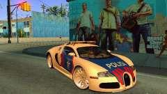 Bugatti Veyron Indonesian Police
