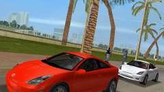 Toyota Celica 2JZ GTE schwarz Revel