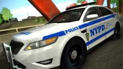 Ford Taurus NYPD 2011