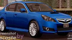 Subaru Legacy B4 2010 pour GTA San Andreas