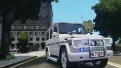 Mercedes-Benz G500 Beredskapstroppen