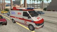 Ford Transit Ambulance für GTA San Andreas