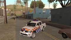 Mitsubishi L200 Police