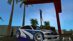 BMW M3 GTR NFSMW für GTA Vice City