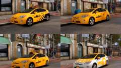 Toyota Prius NYC Taxi 2013