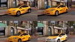 Toyota Prius NYC Taxi 2013 pour GTA 4