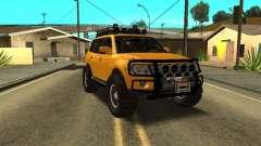 Mitsubishi Pajero OffRoad v2 für GTA San Andreas