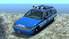 Chevrolet Caprice Police Station Wagon 1992