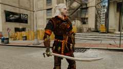 Épée de la v2 de The Witcher