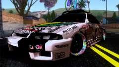 Nissan GT-R R33 HellaFlush