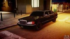 Mercedes-Benz 560 SEL Black Edition für GTA 4