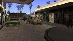 Beschäftigt Tankstelle in Los Santos