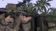 M16A1 Vietnam war