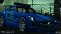 Mercedes-Benz SLS AMG Blue SCPD