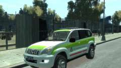Toyota Land Cruiser Prado Police