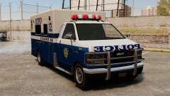 Neue van-Polizei