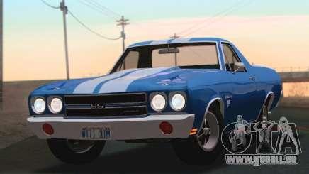 Chevrolet EL Camino SS 70 für GTA San Andreas