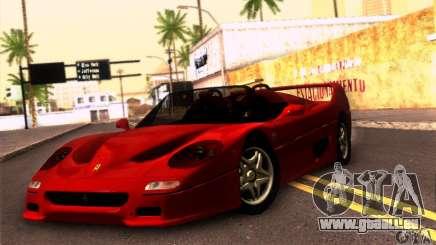 Ferrari F50 Spider für GTA San Andreas