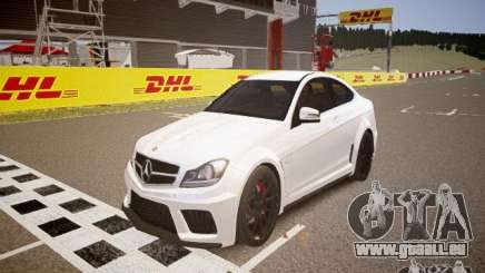 Mercedes-Benz C63 AMG Stock Wheel v1.1 pour GTA 4