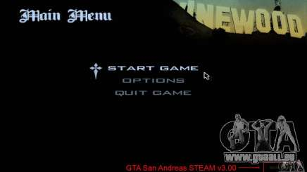 Patch pour GTA San Andres Steam V 3.00 pour GTA San Andreas