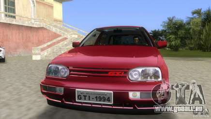 Volkswagen Golf GTI 1994 pour GTA Vice City
