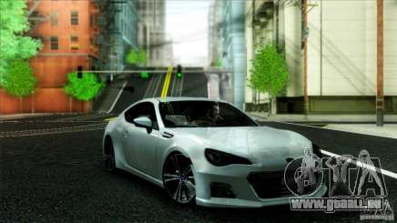 Subaru BRZ v2 pour GTA San Andreas