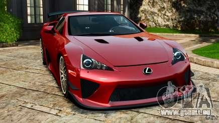 Lexus LFA 2012 Nurburgring Edition für GTA 4