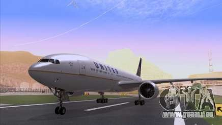 Boeing 777-200 United Airlines pour GTA San Andreas