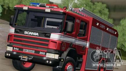 Scania 94D-260 Corpo Bombeiros SP für GTA San Andreas