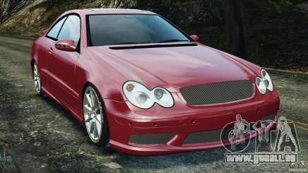 Mercedes-Benz CLK 63 AMG für GTA 4