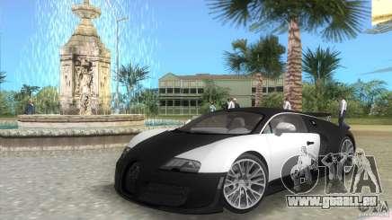 Bugatti ExtremeVeyron pour GTA Vice City