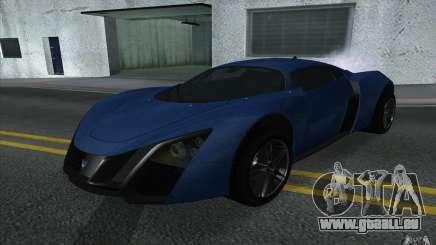 Marussia B2 2010 pour GTA San Andreas