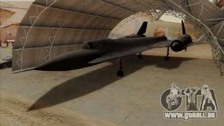 YF-12A für GTA San Andreas