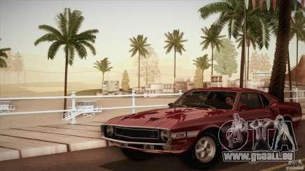 Shelby GT500 428 Cobra Jet 1969 für GTA San Andreas