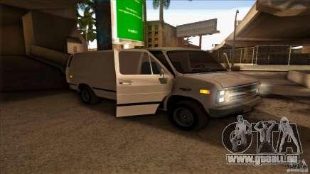 Chevrolet Van G20 für GTA San Andreas