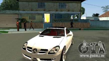 Mercedes Benz SLK 300 pour GTA San Andreas