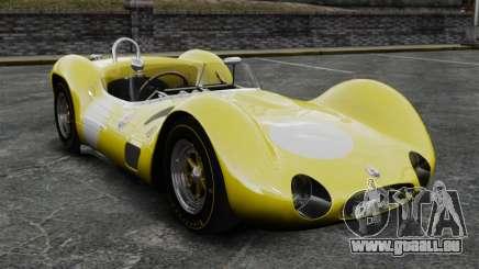 Maserati Tipo 60 Birdcage жёлтый pour GTA 4