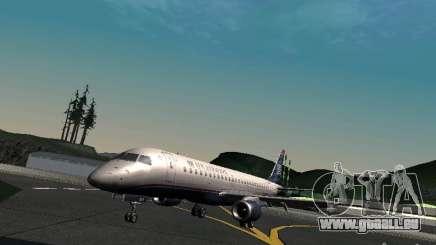 Embraer ERJ 190 USAirways pour GTA San Andreas