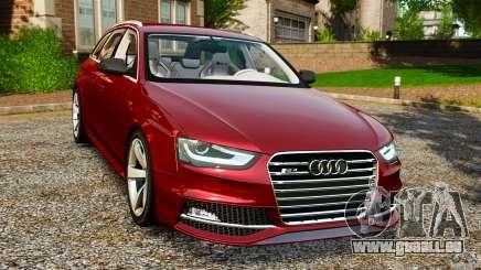 Audi RS4 Avant 2013 pour GTA 4