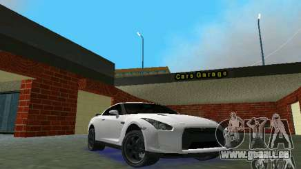 Nissan GT-R Spec V 2010 v1.0 für GTA Vice City