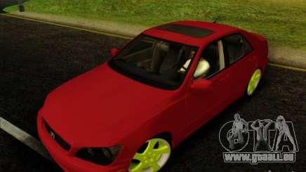 Lexus IS300 Edit pour GTA San Andreas