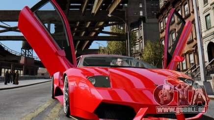 Lamborghini Murcielago RSV FIA GT1 pour GTA 4