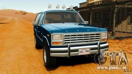 Ford Bronco 1980 pour GTA 4