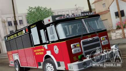 Pierce SFFD Rescue pour GTA San Andreas
