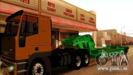 Remorque Iveco Eurotech pour GTA San Andreas