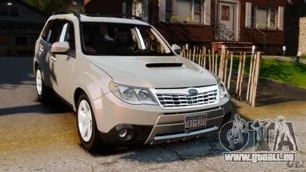 Subaru Forester 2008 XT pour GTA 4