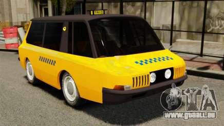 Sowjetische Taxi 1966 für GTA 4