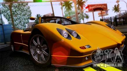 Pagani Zonda C12S Roadster pour GTA San Andreas